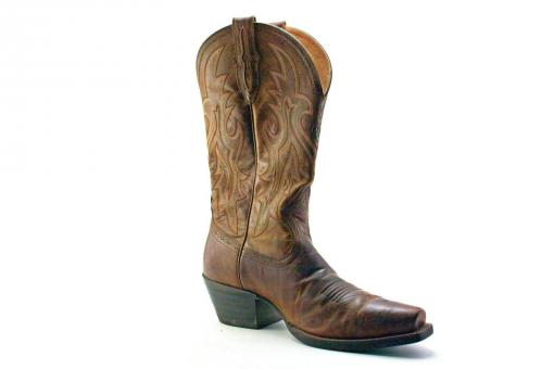 Free Stock Photo of Brown Cowboy Boot