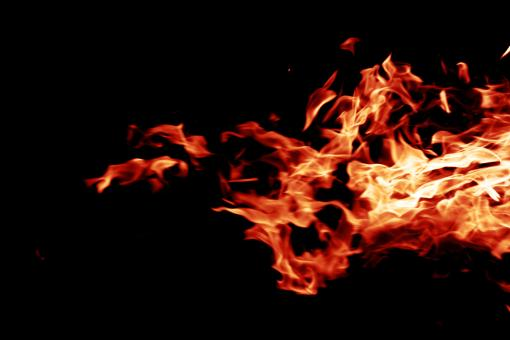 Free Stock Photo of Red Hot Flames