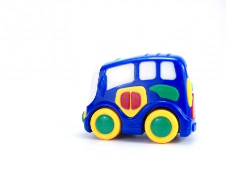 Free Stock Photo of Colorful Toy Car