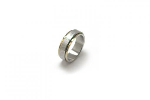 Free Stock Photo of stainless steel ring