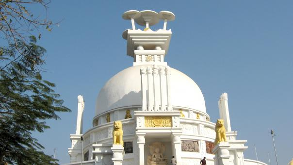 Free Stock Photo of Shanti Stupa