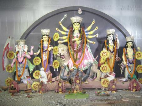 Free Stock Photo of Goddess Durga Maa