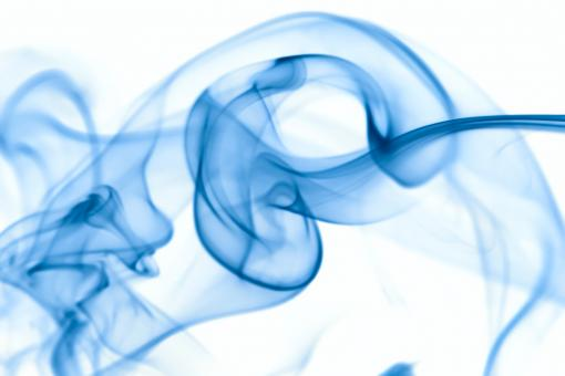 Free Stock Photo of Large Blue Smoke