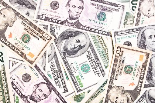 Free Stock Photo of Mixed Dollars