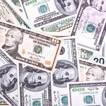 Free Stock Photo of Mixed Dollar Bills
