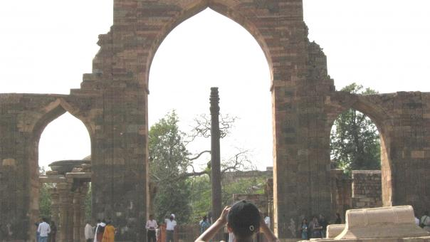 Free Stock Photo of Iron Pillar In Delhi