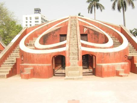 Free Stock Photo of Jantar Mantar Observatory