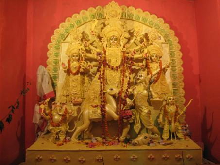 Free Stock Photo of Ma Durga Puja
