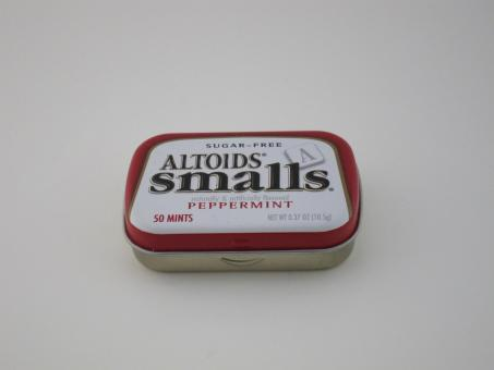 Free Stock Photo of Small Altoids Tin