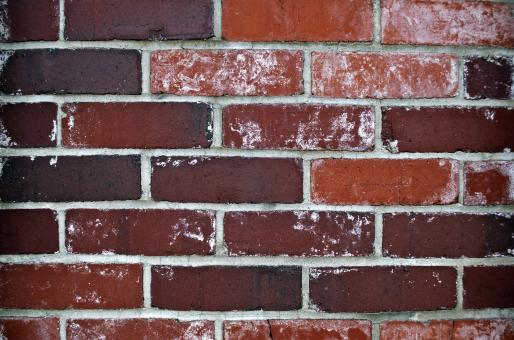 Free Stock Photo of Dark Brick Wall