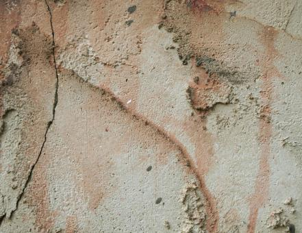 Free Stock Photo of Stained Stucco