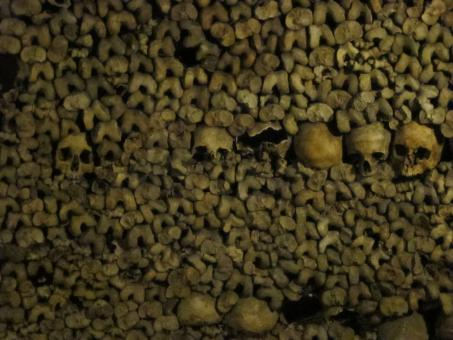 Free Stock Photo of Remains - Catacombs