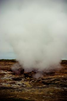 Free Stock Photo of Geothermal Activity