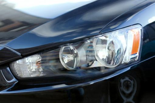 Free Stock Photo of car headlight