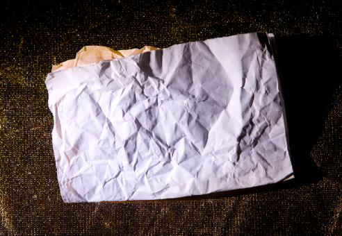 Free Stock Photo of Crumpled paper