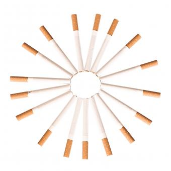 Free Stock Photo of Cigarettes Circle