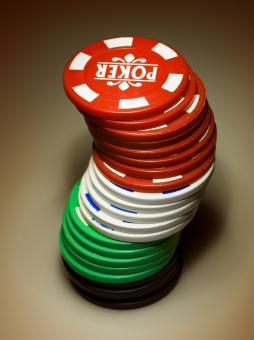 Free Stock Photo of Gambling chips