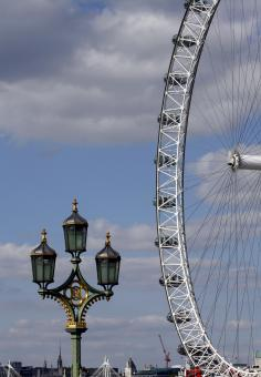 Free Stock Photo of London eye