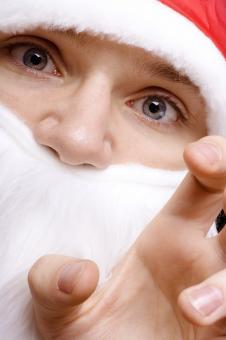 Free Stock Photo of Santa