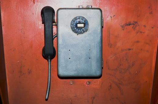 Free Stock Photo of Old phone
