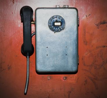Free Stock Photo of Old Vintage Phone
