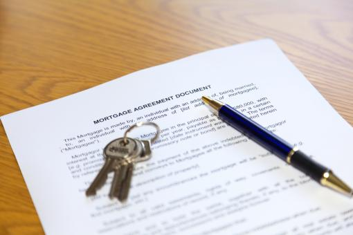 Free Stock Photo of Mortgage Agreement Document