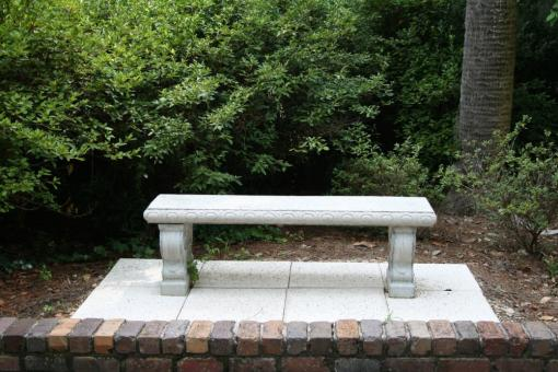 Free Stock Photo of Garden Bench