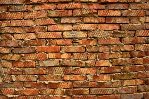 Free Stock Photo of Old Brick Wall