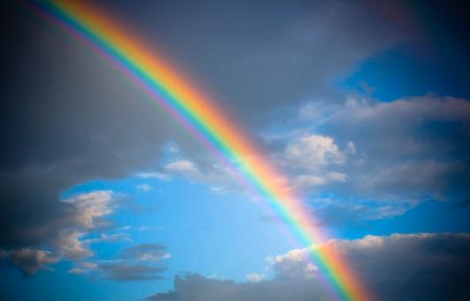 Free Stock Photo of rainbow