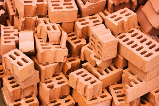 Free Stock Photo of red bricks