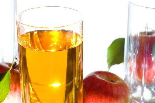 Free Stock Photo of apple juice