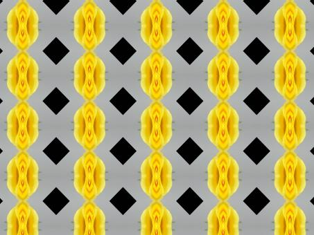Free Stock Photo of Black and yellow pattern