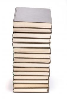 Free Stock Photo of Pile of books