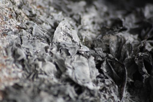 Free Stock Photo of Burnt paper ashes