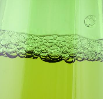 Free Stock Photo of Green beer bubbles