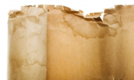 Free Stock Photo of old parchment