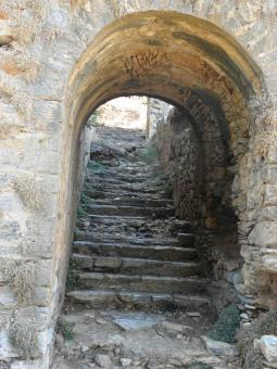 Free Stock Photo of Ancient staircase from 2th century