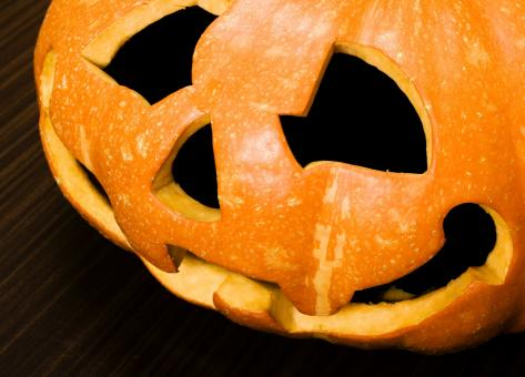 Free Stock Photo of Scary Pumpkin Figure for Halloween