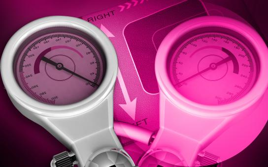 Free Stock Photo of Medical equipment - Gauge Meter on Pink Background