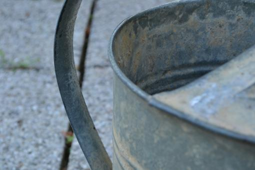 Free Stock Photo of Watering Can Detail