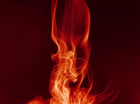 Free Stock Photo of Red Flame Like Smoke