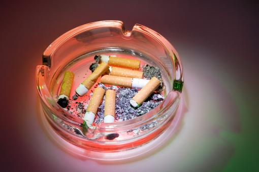 Free Stock Photo of ashtray