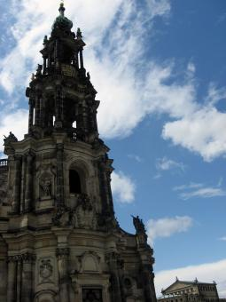 Free Stock Photo of Cathedral. Dresden