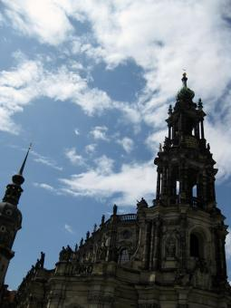 Free Stock Photo of Cathedral, Dresden