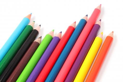 Free Stock Photo of Multicolor Crayons