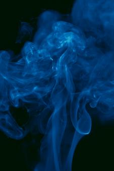 Free Stock Photo of Blue Smoke Background