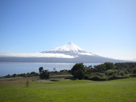 Free Stock Photo of Volcan Osorno
