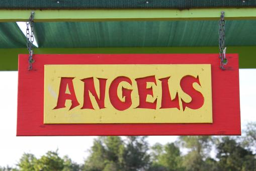 Free Stock Photo of Angel sign