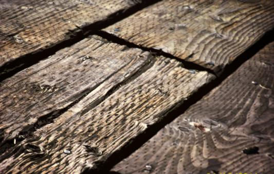 Free Stock Photo of Deck wood