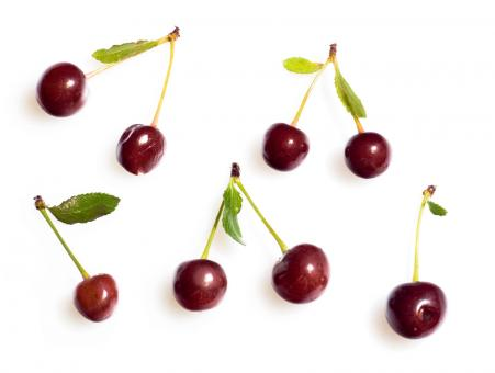 Free Stock Photo of cherry set